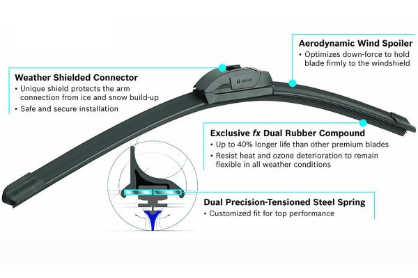 Bosch ICON Wiper Blades 26a 1