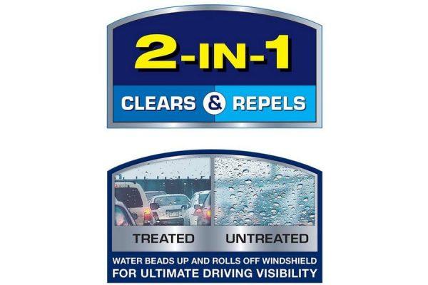 Rain-X Latitude Water 2-In-1 Water Repellency